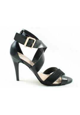 Sandały szpilki ANIS 4388 czarne