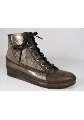 Półbuty sneakersy brązowe KHRIO