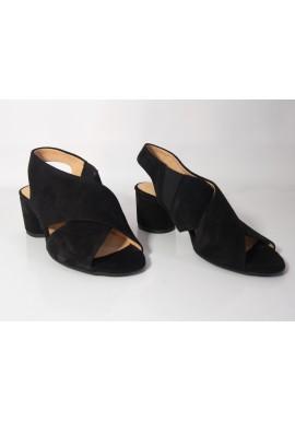 Sandały VANESSA 1389/1 czarny nubuk