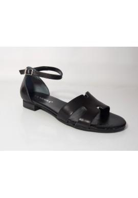 Sandały VANESSA 1472 skóra mat czarne