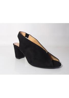 Sandały czółenka VANESSA 1389 czarny