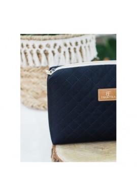 Krótki portfel pudrowy